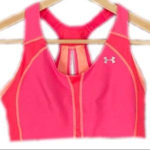 Under Armour Bra Sport Heatgear Neon Hot Pink  32C